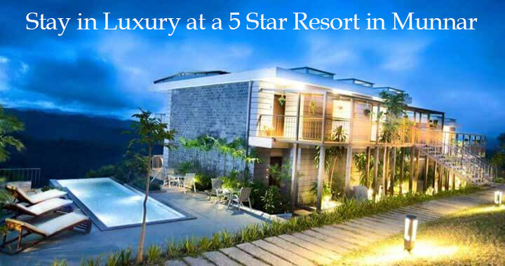 Five Star Luxury Resort in Munnar